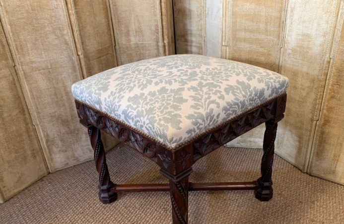 Cute Gothic Stool C 1900 Tabouret Search Results European Antiques Decorative